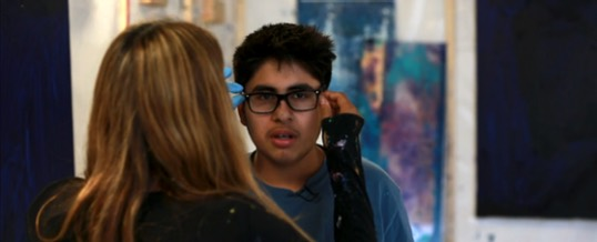 Teen with Autism Becomes Art Sensation